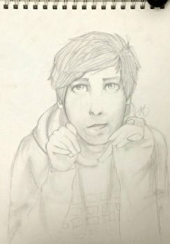 Phil Lester by psychoticpencils