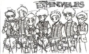 Expendables by renchan1444