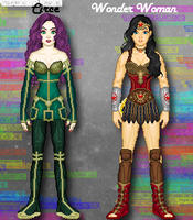 RenverseDC: Wondy and Circe by TerenceTheTerrible