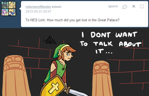 Ask Link - Lost? by pocket-arsenal