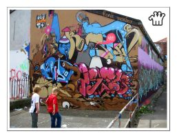 Graffiti XXII by moonstomp