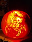 2009 Ghostrider Pumpkin by Line-of-Birds