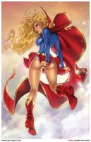 Classic Supergirl by pant