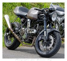 Ducati Cafe Racer - 001 by laurentroy