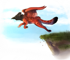 Take Off by GemFeathers
