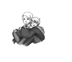 Drarry by dinoCUNTasaurus
