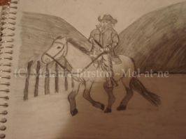 A Person Riding a Horse 2 by Mel-at-ne