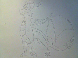 Spyro Lineart by vocalover9326