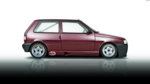 Fiat Uno Turbo '07 by HAYW1R3