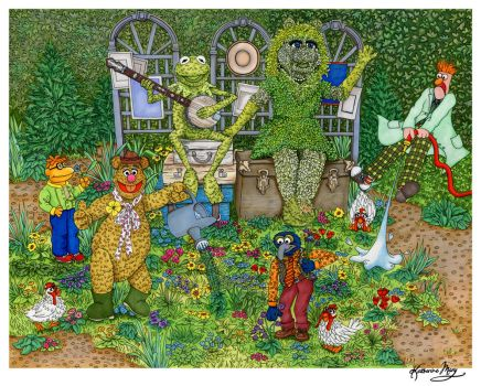 Gardening for Dummies: Muppets Style by Katifisen