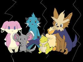 My Pokemon Team by PineappleAddiction