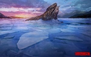 Icy Island by EmilianoHC
