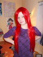 The new Wig from my Sis by KasumiKetchum