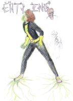 Young X-men OC: Entling/Sapling by gay-rudy