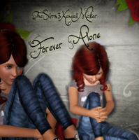 forever alone by TheSims3KawaiiMaker