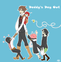 Daddy's Day Out by TrainerHarmony