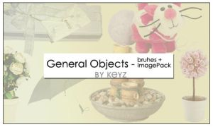 General Objects Brushes by KeyMoon