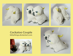 Cockatoo Couple by Bittythings