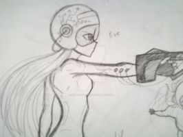 WALLE:EVE by invaderwolfgirl