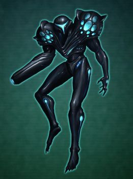 Dark Samus by rob-powell