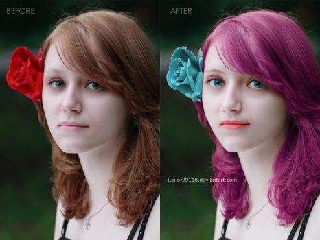 make over and full retouch by junior20118