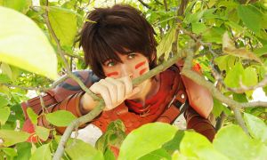 HICCUP Cosplay - Race to the Edge by AlexanDrake89