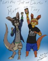 Let's Play Jak and Daxter with Matt and Tony by Faullyn