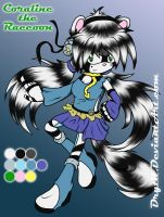 :CE: Coraline the Raccoon by Drytil