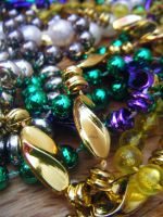 Mardi Gras Beads by Seattle-Storm