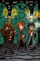 Harry and friends colour by harley00