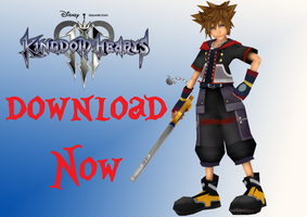 .:Sora Kingdom Hearts 3 Download Now !!:. by KairiChan96