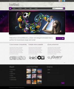 SmoothBoosh HTML Theme by perrycoke