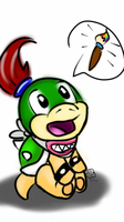 Bowser Jr! by WiseMuffinTheCreator