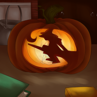 Carved Witch by HoshinoDestiny