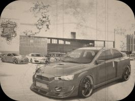 Mitsubishi Evo X By Alesstyle by TheAlessandro