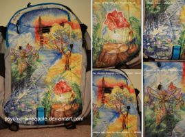 'paintings' backpack by psychic-pineapple