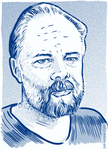 Philip K. Dick by peileppe