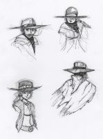 Western Portraits by HJTHX1138