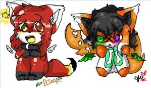 iScribble with Amber by Frenchielover4ever