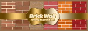 Brick Wall Texture Pack by Romenig