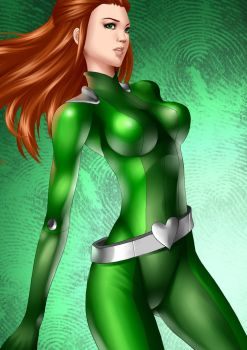 SAM totally Spies by Guibb