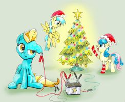 Lightning-powered Christmas by Helmie-D
