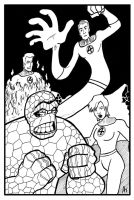 Fantastic Four by phymns