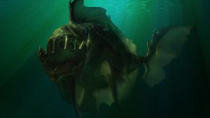 3D - Predatory fish by monokin