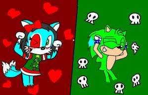 Caramell Dansen with me and my girlfreind by sonictails9
