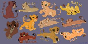 Cubs by tigon