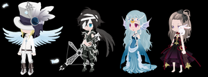 Free Dream Selfy Adopts (CLOSED) by TechSupportGirls