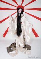 Amaterasu - Shinto Sun Goddess by Cyril-Helnwein