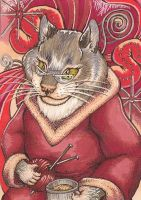 Lilac Day Dreams ACEO by Redwall151