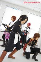 hakuouki:Four people2 by fullmetalflower